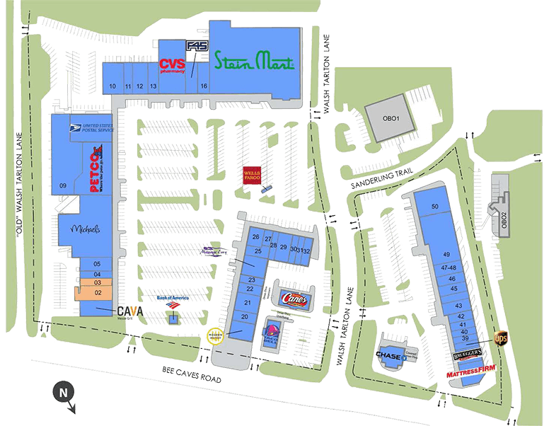 West Woods Site Plan Map